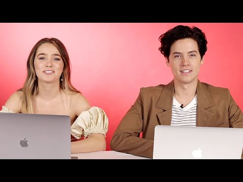 Cole Sprouse And Haley Lu Richardson Play Ship Or Sink