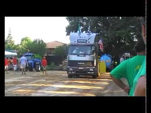 Turbostar 480 Stallone Italiano debutto - tiro - 2012 - driver Claudio - v2: Pulling 3 - driver Claudio. Debutto del