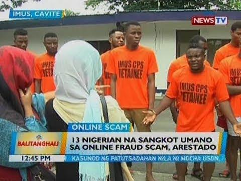 bt 13 nigerian na sangkot umano sa online fraud scam arestado
