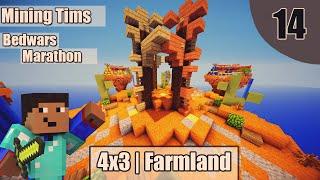 4x3 | Farmland | Bedwars Marathon #14 | MiningTim(German)