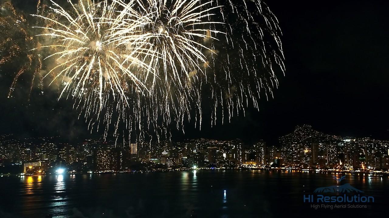 Fireworks Over Waikiki Royal Cosmetics Usa 30th Anniversary Show Youtube