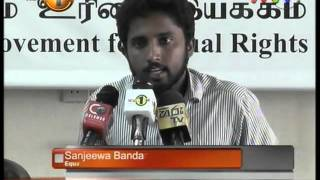 Media briefings focus on Political prisoners