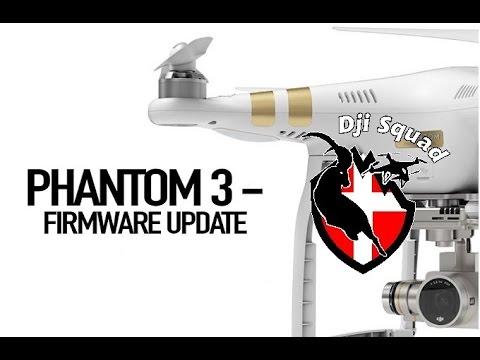 firmware dji phantom 3 advanced mise a jour
