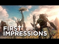 Horizon Zero Dawn First Impressions - The Most Confident Playstation Exclusive Since The Last Of Us video