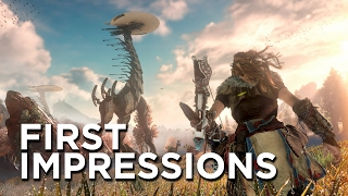 Horizon Zero Dawn First Impressions - The Most Confident PlayStation Exclusive Since The Last of Us