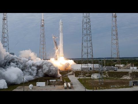 LIVE: SpaceX launches Dragon cargo ship for NASA to ISS