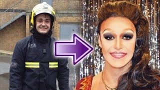 Fireman into Drag Queen? Transformation TV Pilot