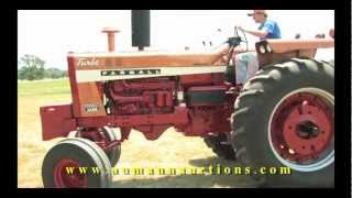 Farmall 1456 Gold Demonstrator Row Crop - High Quality Late Model IH Collection Online Only Auction(Diesel, Restored, running, authentic original