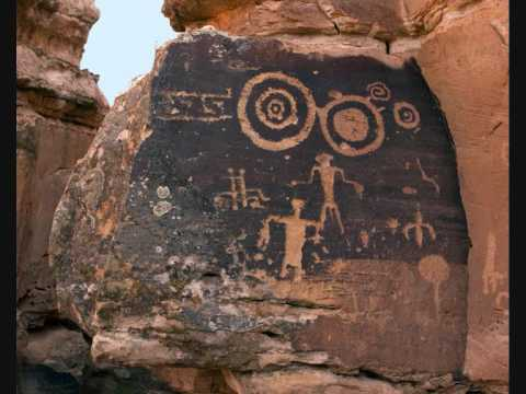 Shamanic mystical visions of entities In Ancient Rock Art