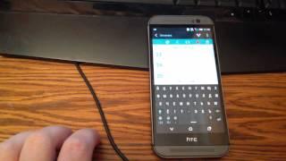 HTC One M8 глюк сенсора(, 2015-03-29T18:59:26.000Z)