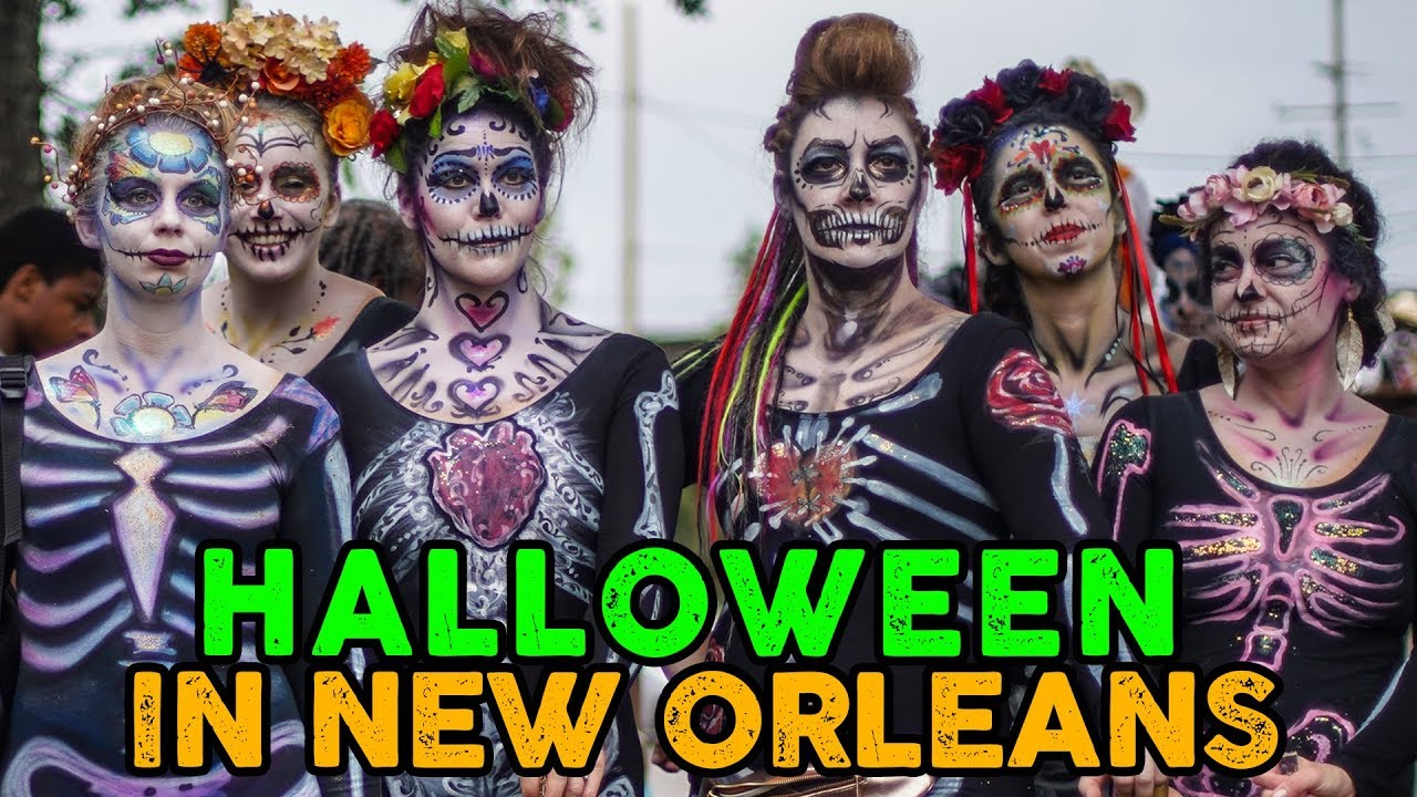 New Orlens Halloween Parade 2020 HALLOWEEN in NEW ORLEANS with KREWE of BOO ! ! !   YouTube