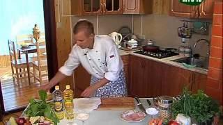 Домашняя кухня с Александром Рыбниковым часть №1