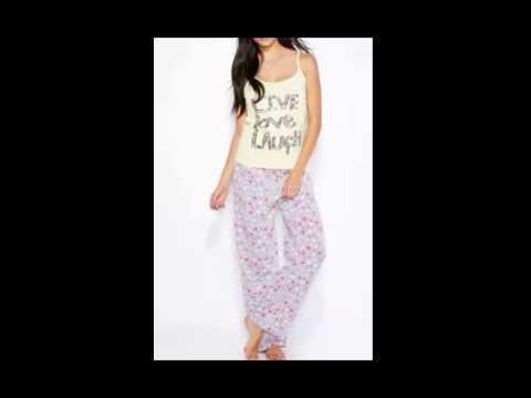 9eee544e38ba6 أحدث مجموعة بيجامات لأناقتك في المنزل - ملابس نوم - YouTube