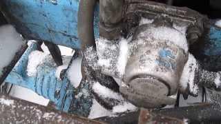 гидравлическая рулевая система трактора т-40 ( 2 часть)