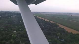 Lot Widokowy Samolotem w Warszawie video