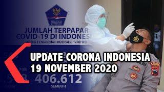 Update Corona 19 November: 483.518 Positif, 406.612 Sembuh, 15.600 Meninggal Dunia