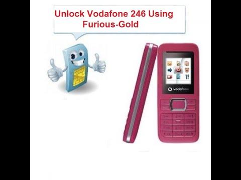 Unlock Vodafone 246 Using Furious-Gold