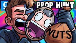 Gmod Prop Hunt Funny Moments - Nogla Loves His Nuts!