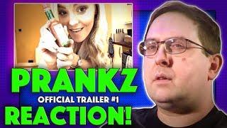 REACTION! Prankz Trailer #1 - Sharon Drain Prank Horror Movie 2017