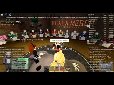 Snowie's Cafe Interview and Safechat Code! by roblox with phia and addie