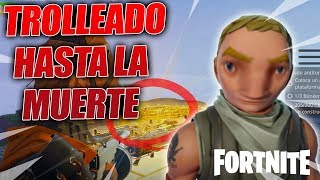 😜THE MOST NOOB SCAMMER IS TROLLED TO DEATH!😭 - Fortnite Save The World