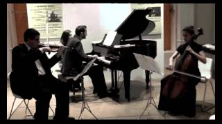 Giulio Menichelli suona Haydn Trio op 39 in Sol M