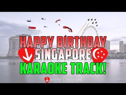 Top 9 Super Classic Singapore National Day Songs (Karaoke!) - By Vinnie Classroom