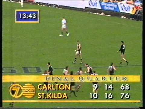 St Kilda vs Carlton Rd 20  1993