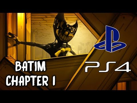 Bendy and the Ink Machine PS4 (CHAPTER 1) | NO COMMENTARY GAMEPLAY