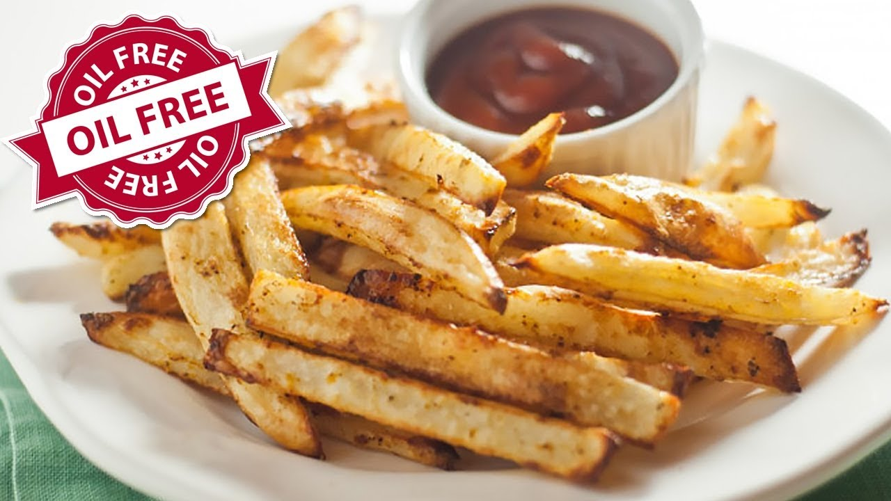 How to make homemade french fries in the oven without oil