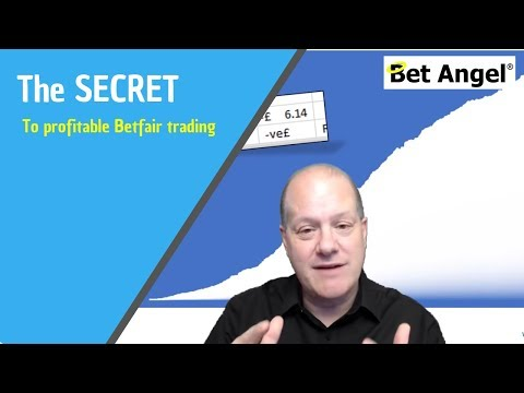 The secret to profitable Betfair trading and betting