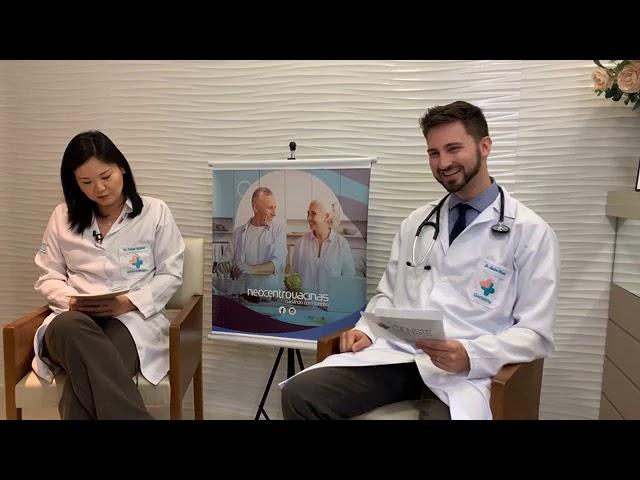 LIVE: Infectologista e geriatra do CENSIE explicam tudo sobre vacinação em idosos