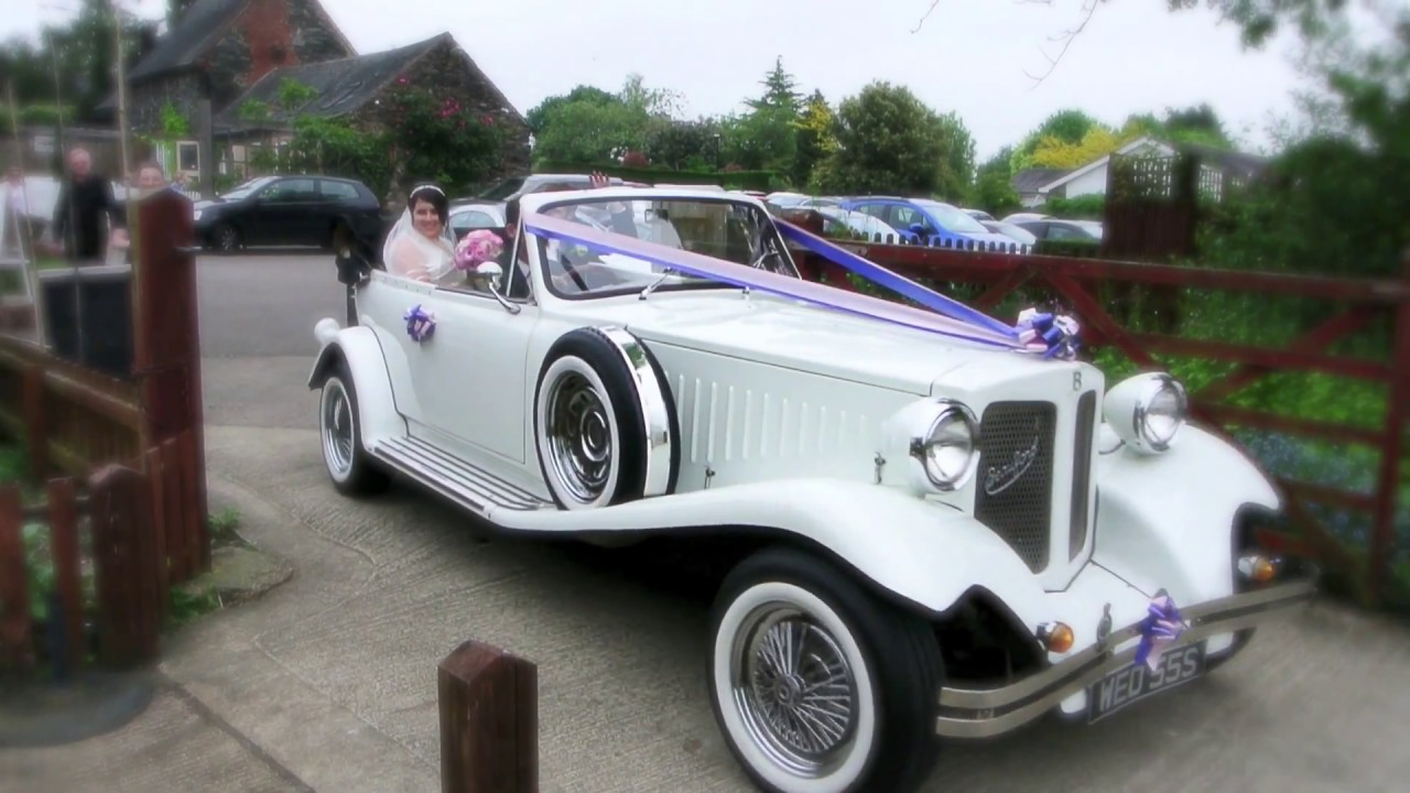 MRM Wedding Car Hire - The Beauford Tourer - YouTube