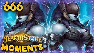 214 IQ Play...!!   Hearthstone Daily Moments Ep. 666
