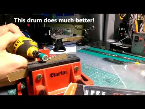 Homemade DIY Sanding Drums For A Dremel Rotary Tool