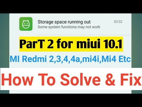 Mi phones storage problm Part 2   miui 10