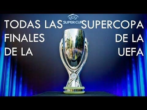 Todas Las Finales De La Supercopa De La UEFA (1998-2018)