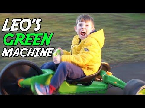 Leo's Green Machine at Duthie Park.  Ep1