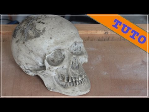 How to mold a skull with latex youtube - Comment fabriquer une ponceuse a bande ...