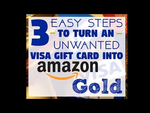 How To Turn A Visa Gift Card Into Amazon Gold