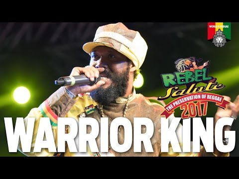 Warrior King & Dre Tosh Live at Rebel Salute 2017
