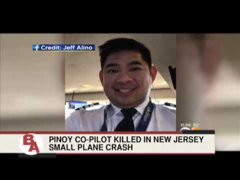 Pinoy co-pilot killed in New Jersey small plane crash