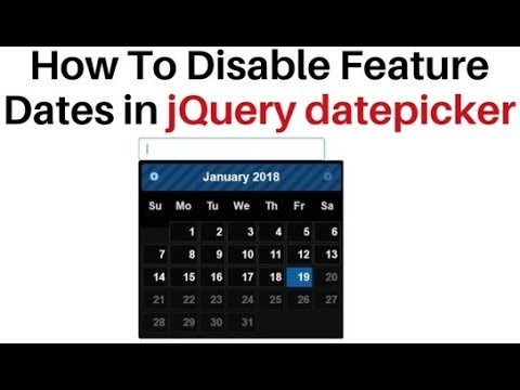 jQuery ui datepicker disable future dates in a calendar control