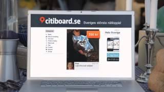 Citiboard.se - Sveriges största nätloppis! Reklamfilm nr. 4 - Lejonhuvud