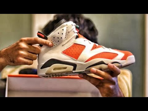 "765006ce3d9c52 Nike Air Jordan 6 ""Gatorade"" Sneaker Unboxing Sneaker Review and On-Foot  Preview"
