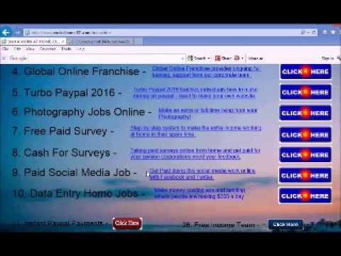 Free Money Give Away Simply The Best Work at Home Job Website in 2017