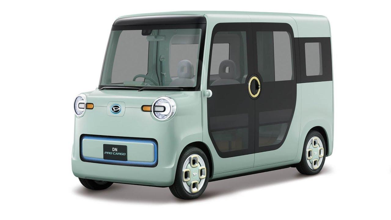 Daihatsu Dn Pro Cargo Concept Compact Commercial Van