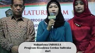 Testimony mahasiswa Sultra BUTON UTARA
