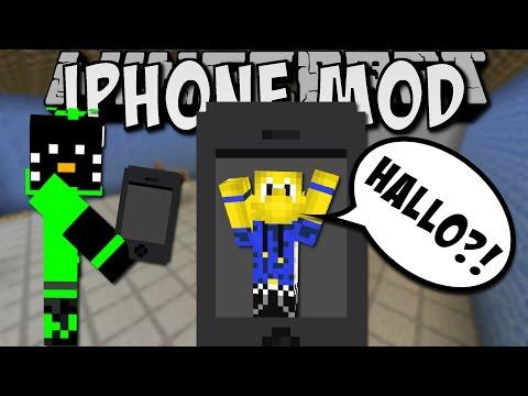 telefonieren-in-minecraft!-(iphone-mod)-[deutsch]