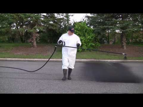 Sealcoat Smarter With The AdapTech™ Wand By Panther Equipment